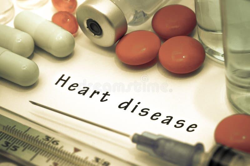 Doença cardíaca fotografia de stock royalty free