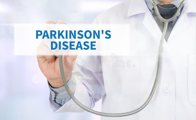 A doença de Parkinson fotos de stock