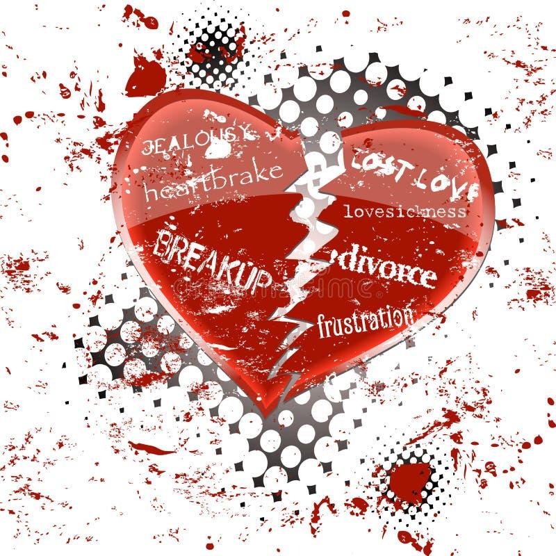 Doença do amor ilustração royalty free