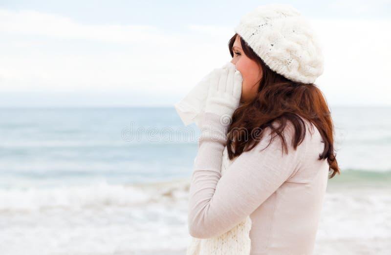 Doença fria imagens de stock royalty free
