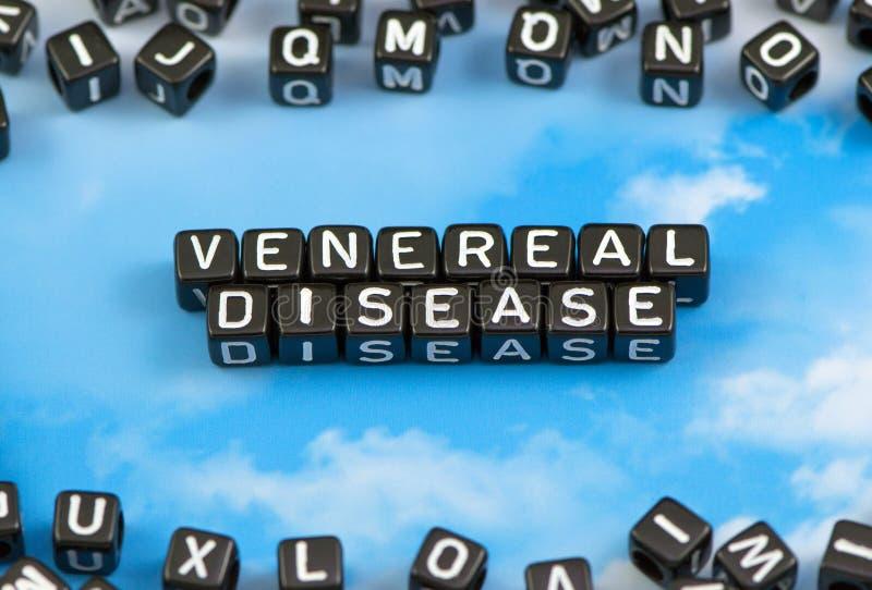 A doença venéreo da palavra foto de stock royalty free
