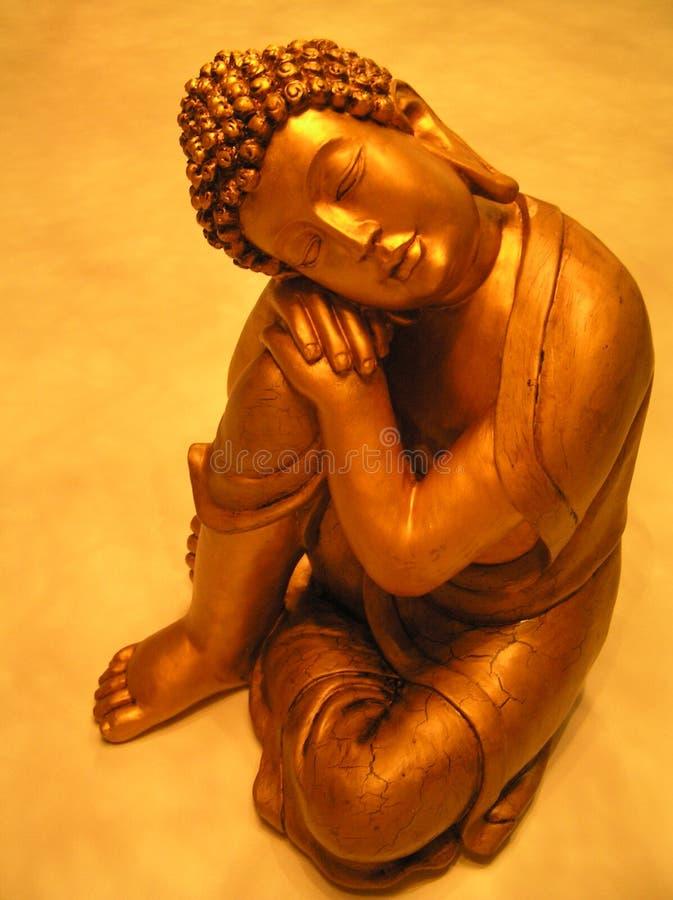 Download Doende leunen Boedha stock afbeelding. Afbeelding bestaande uit stel - 289705