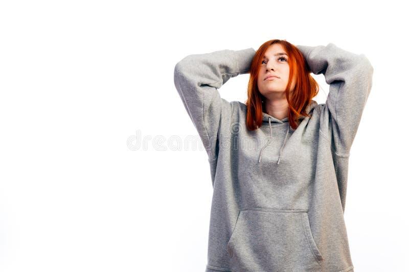 doente da jovem mulher fotos de stock