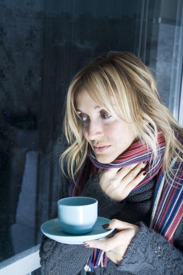 Download Doente em meu apartamento foto de stock. Imagem de cough - 12804246