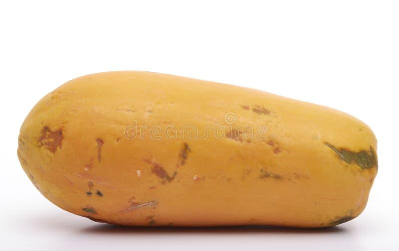 dof新鲜的番木瓜浅黄色 免版税库存图片