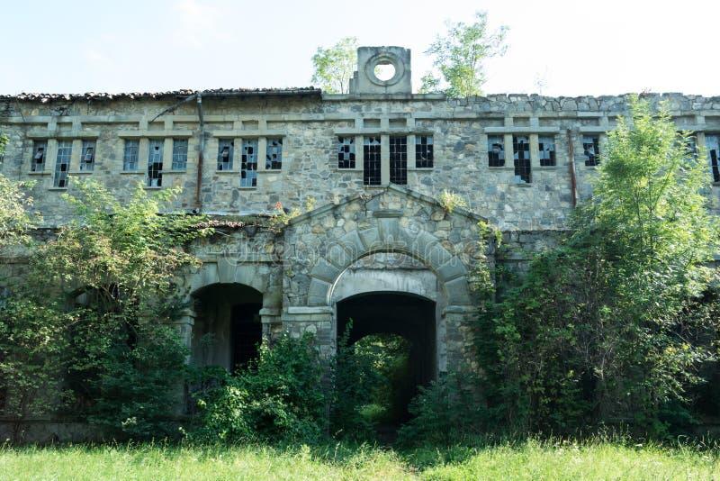 Doftana prison exterior royalty free stock image