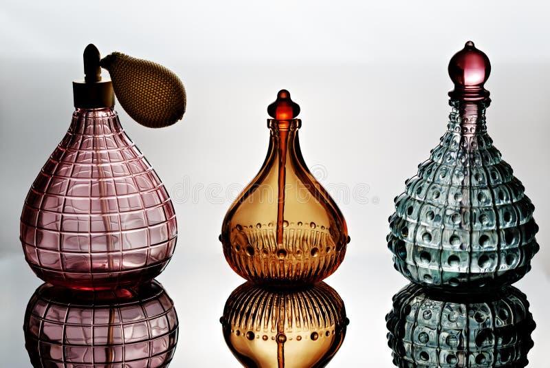 Doftflaskor royaltyfri foto
