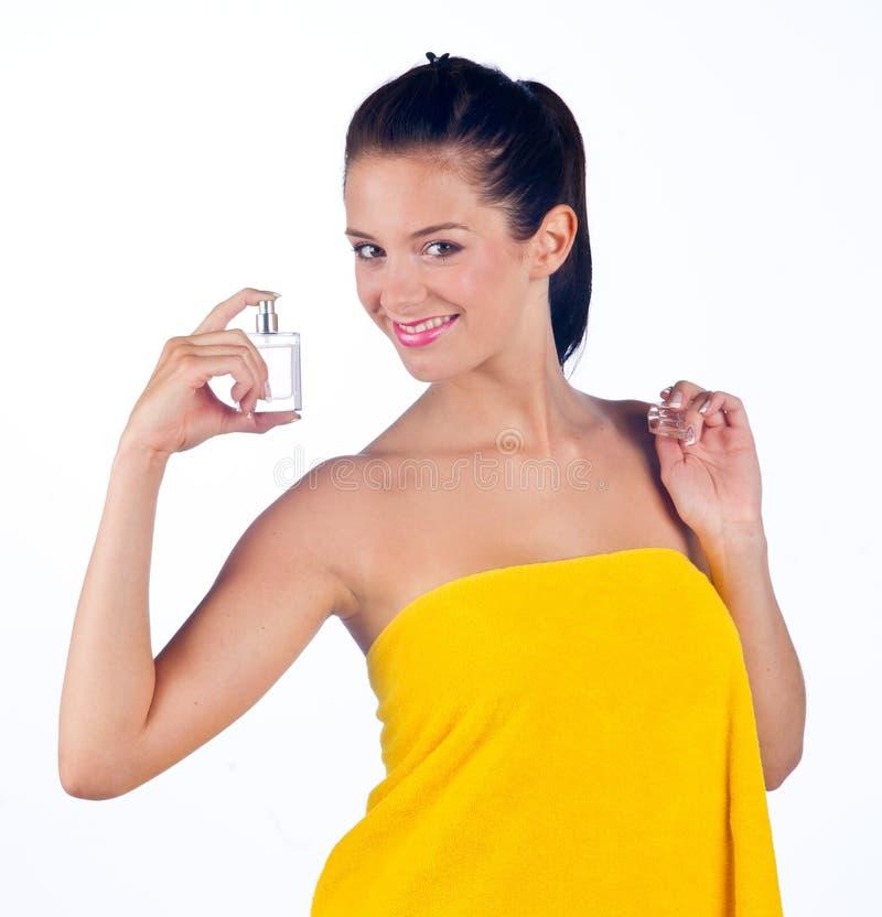 doftkvinna arkivbild