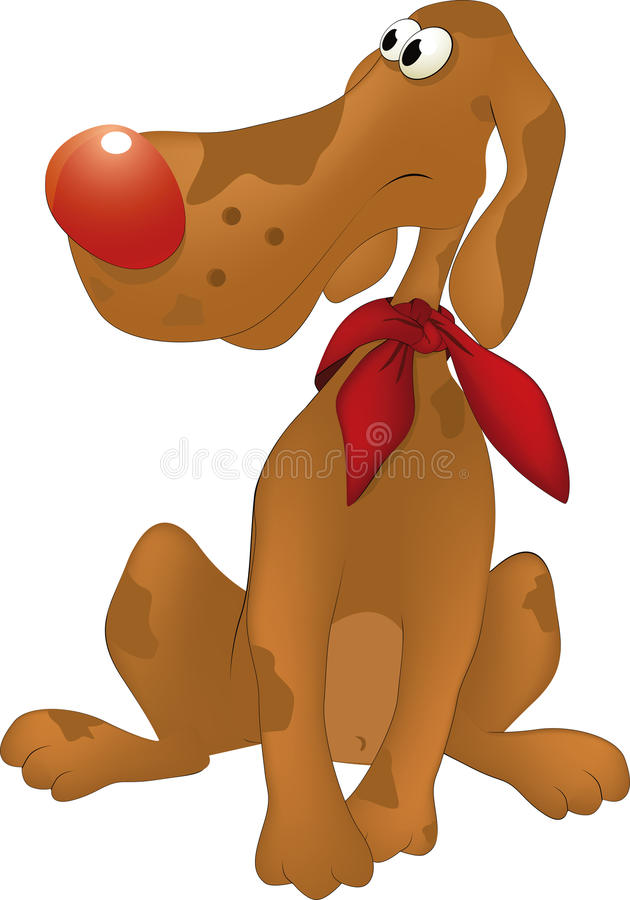 Download Dog stock vector. Image of hopelessness, portrait, pets - 13096061