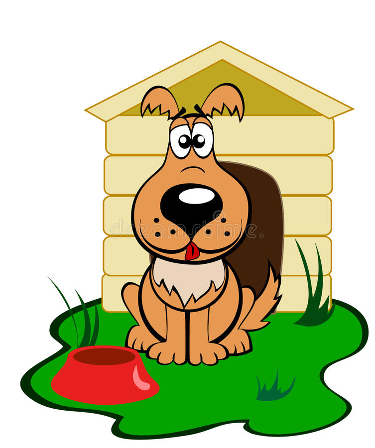 Download Dog stock vector. Image of funny, keep, cartoon, care - 13938816
