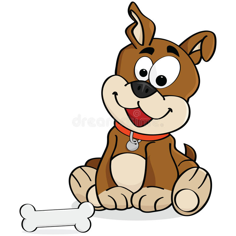 Download Dog stock vector. Image of friend, adorable, domesticated - 16182825