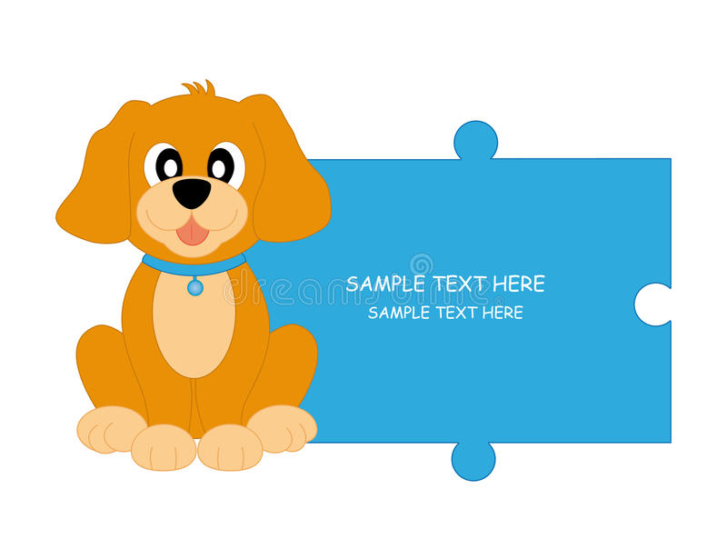 Download Dog stock vector. Image of childlike, puppy, mascot, advertisement - 17269992