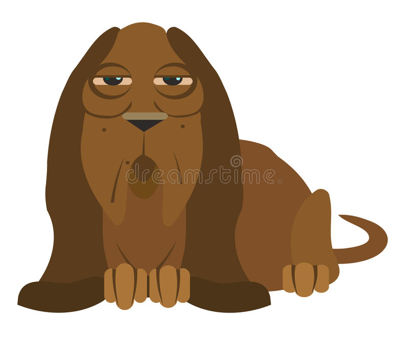 Download Dog stock vector. Image of caricature, background, comic - 23780683