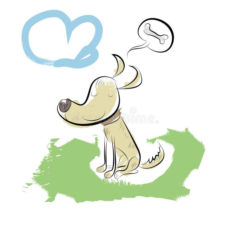 Download Dog stock illustration. Illustration of illustration - 27809524