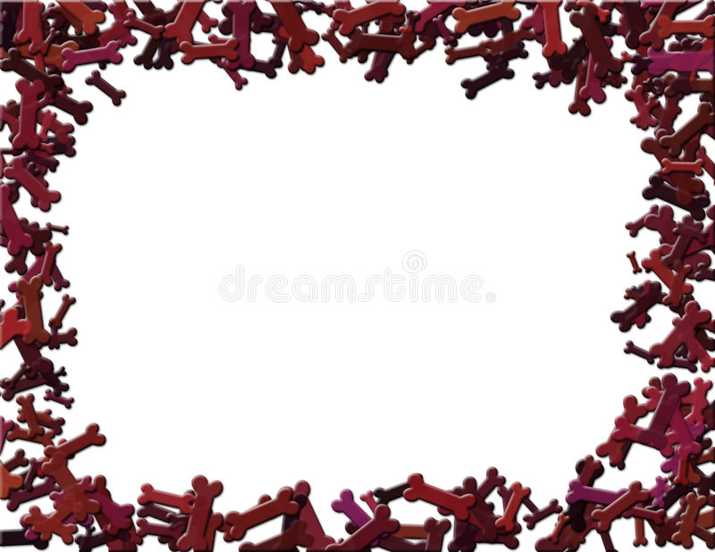 Download Dog Bone Frame Royalty Free Stock Photo - Image: 2310065