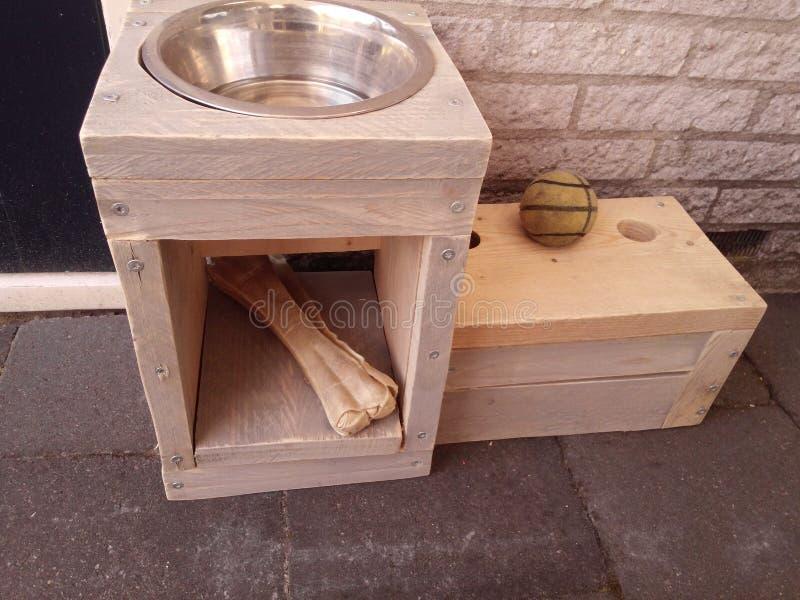 Dog bowl stock photos