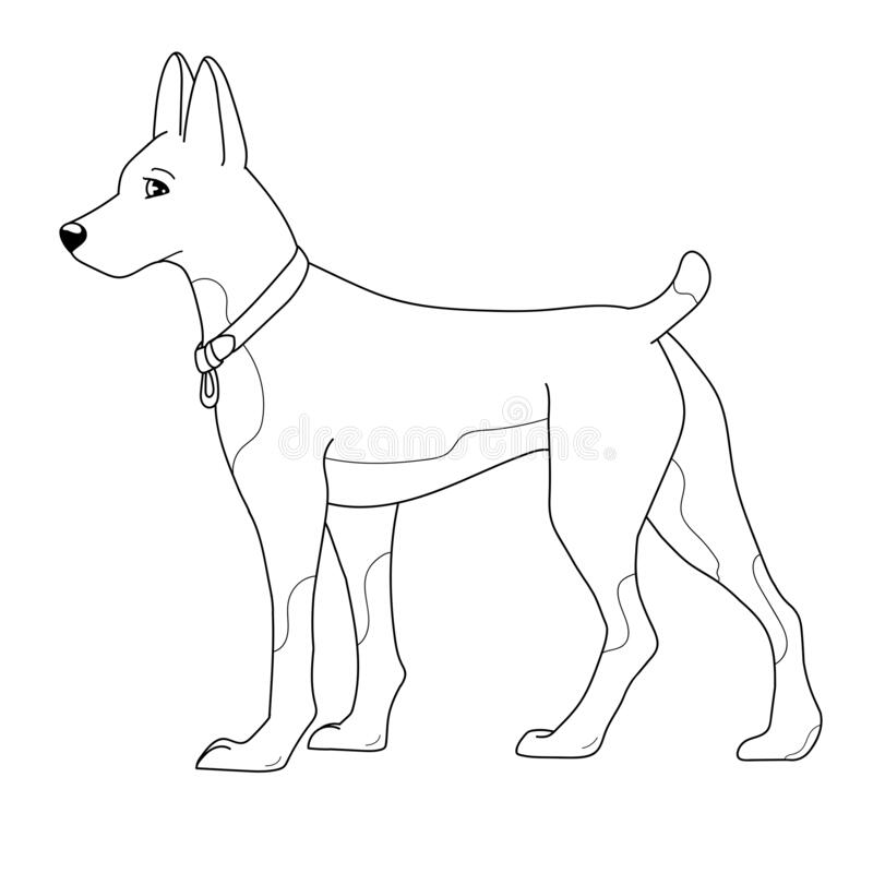 Printable Dog Coloring Pages For Kids | 800x800