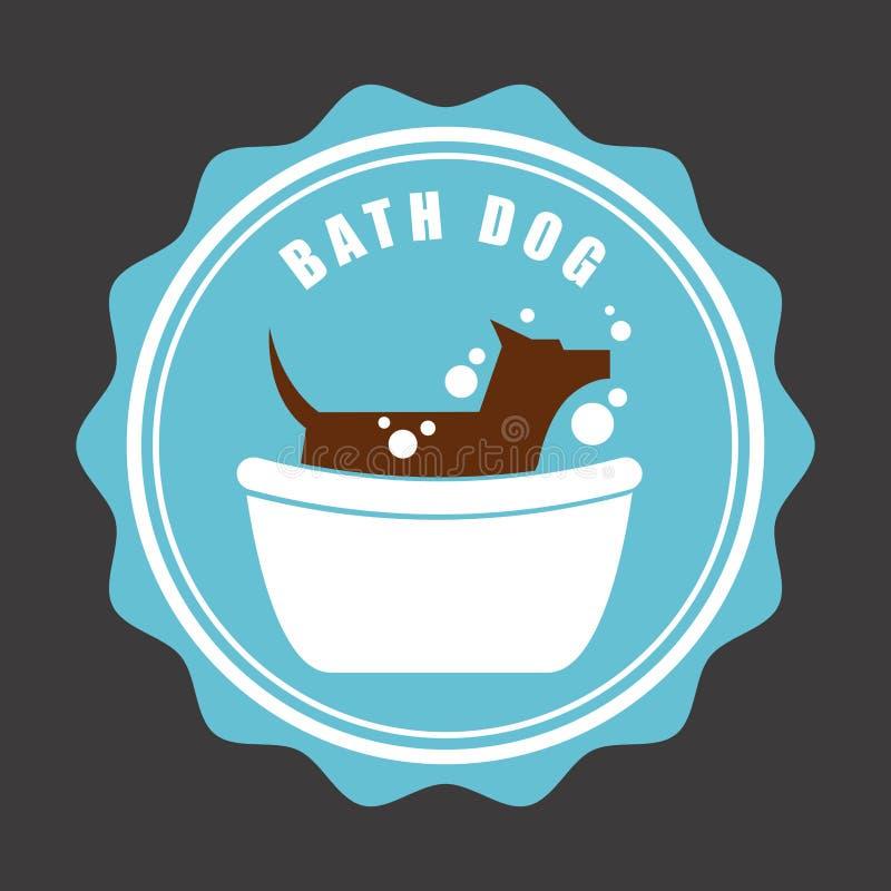 Dog design stock illustration