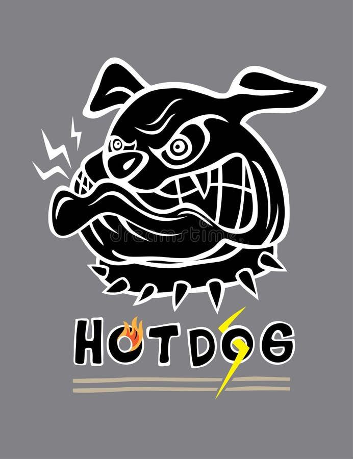 Dog Face royalty free illustration