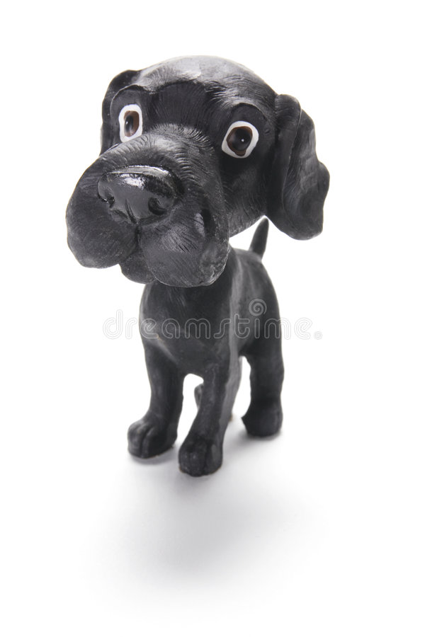 Download Dog Figurine stock photo. Image of lonely, life, still - 9176622