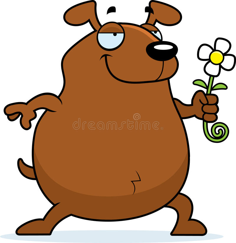 Download Dog Flower stock vector. Illustration of happy, smiling - 11921103