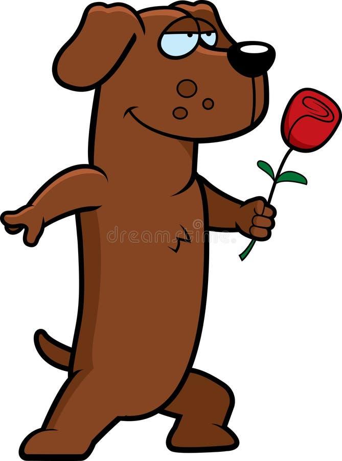 Download Dog Flower stock vector. Image of animal, illustration - 8683863