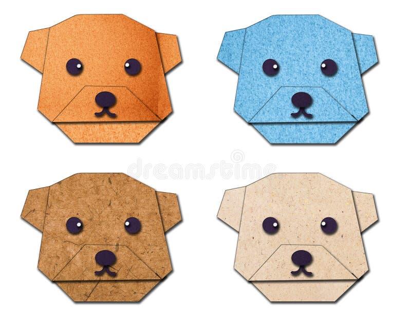 Download Dog folded the paper stock illustration. Image of decoration - 27282450