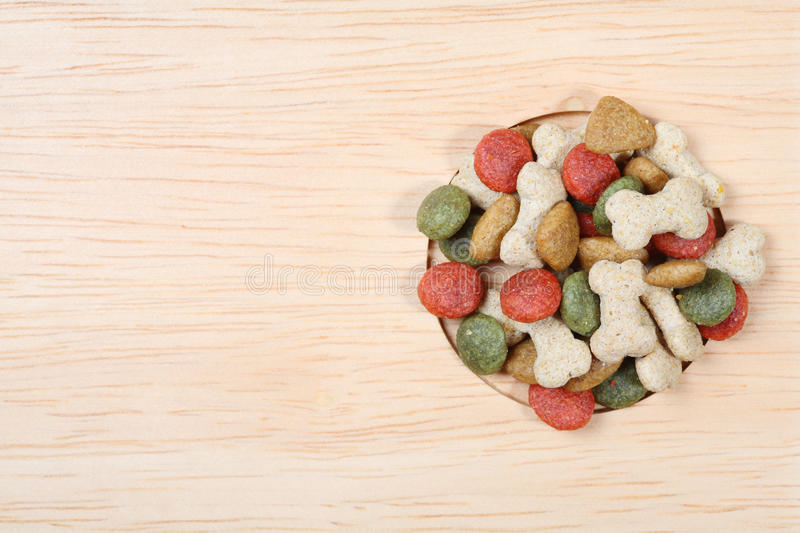 Dog food royalty free stock images
