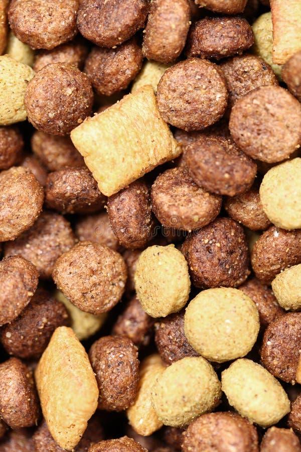 Dog food close-up (Texture). Dog food closeup - background - Full Frame stock photos