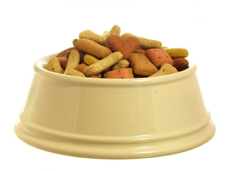 Dog food series stock photo