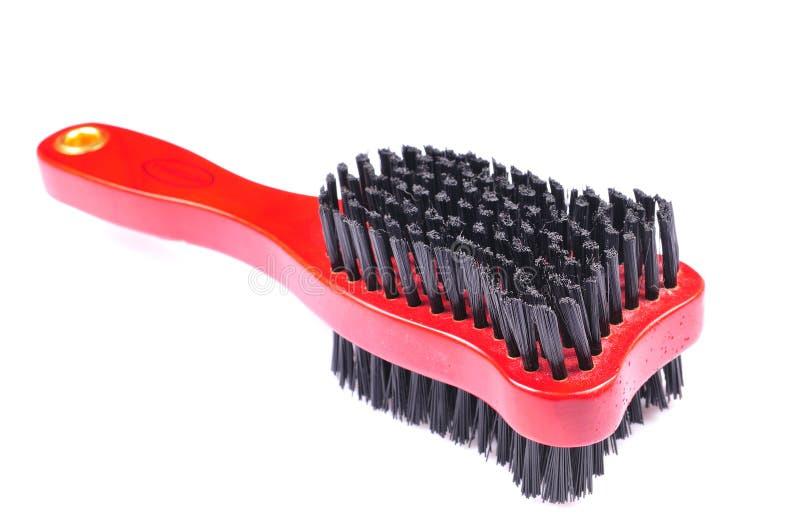 Dog hair brush royalty free stock photo