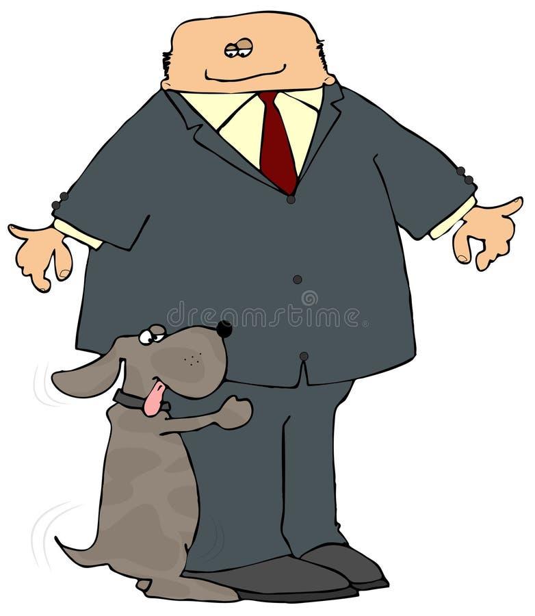 Dog Hump stock image