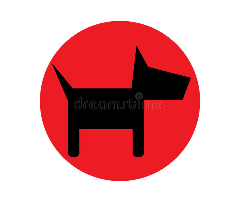 Download Dog Icon Design stock vector. Image of background, puppy - 83703812
