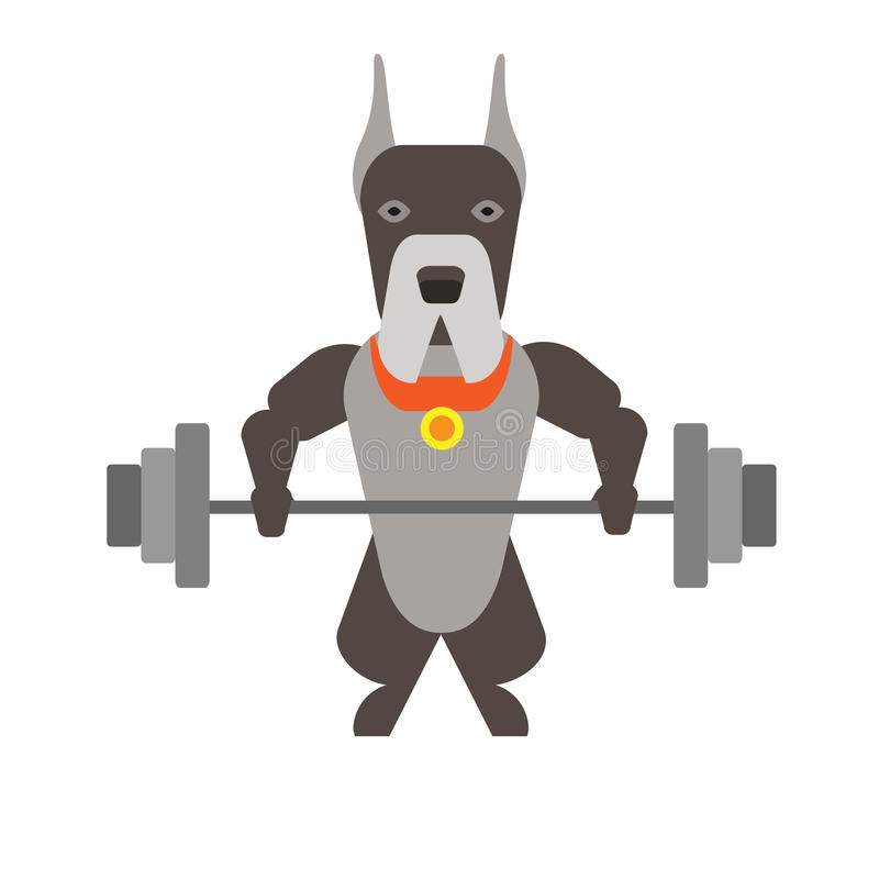 Download Dog stock vector. Image of character, background, vector - 33696812