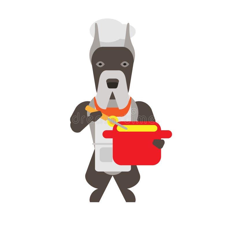 Download Dog stock vector. Illustration of cartoon, vector, background - 33699010