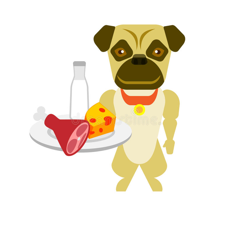 Download Dog stock vector. Illustration of illustration, character - 33700643