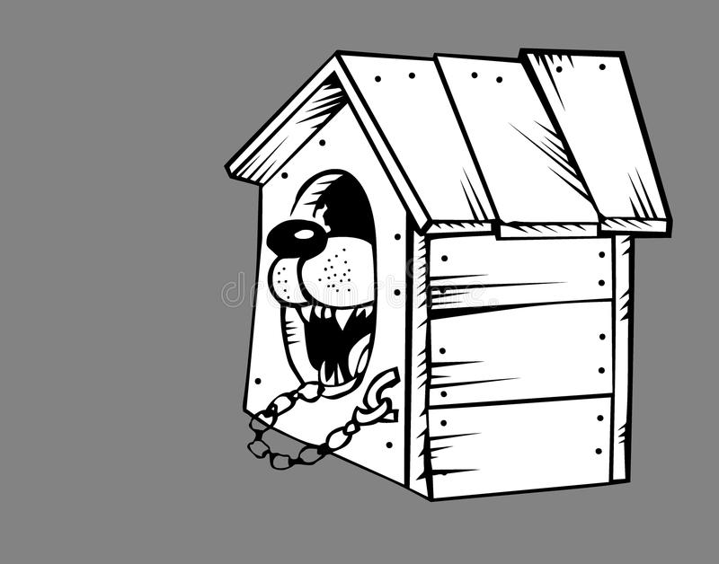 Download Dog In Kennel Royalty Free Stock Photos - Image: 24062108