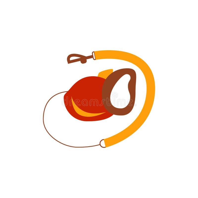 Dog leash icon. stock illustration