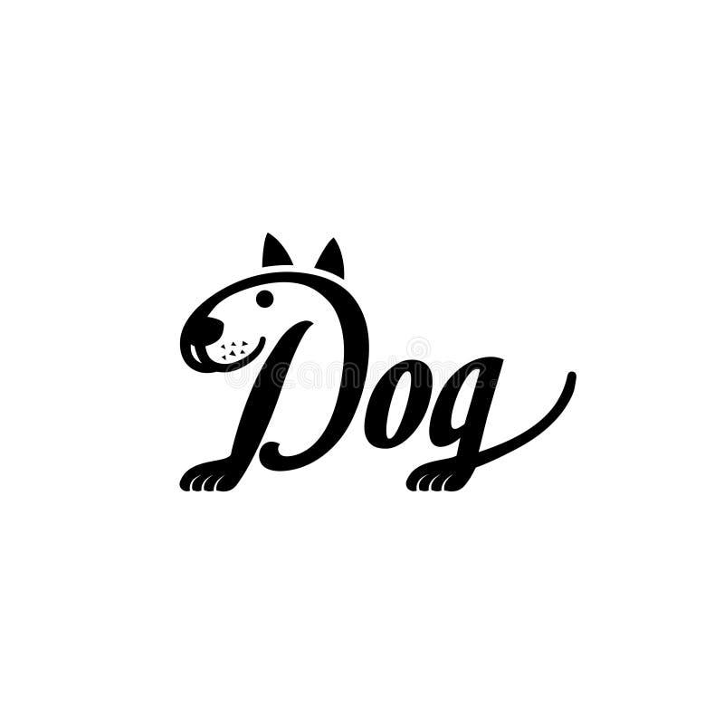 Logo Dog Logo Collection. Animal. Font. Symbol. Vector