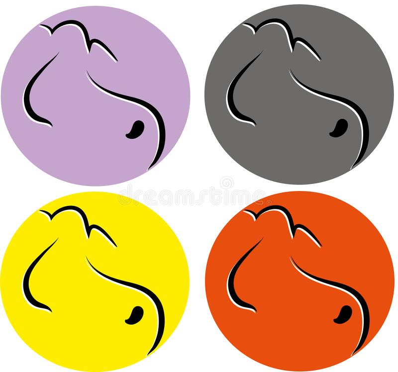 Download Dog logo icon stock vector. Illustration of illustration - 116503487