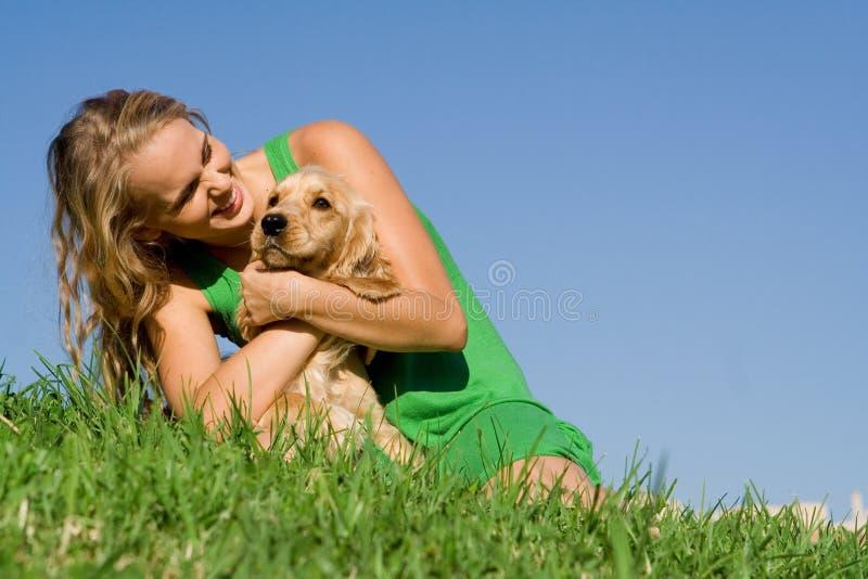 Dog Owner Royalty Free Stock Photo