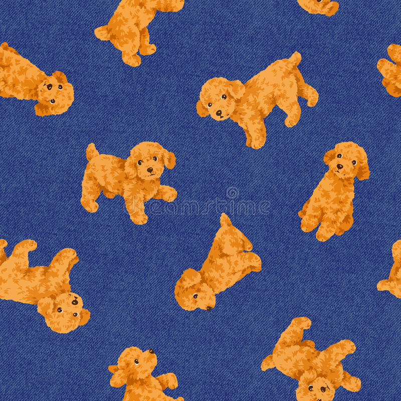 Dog pattern royalty free stock images