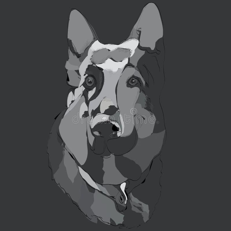 Download Dog Quarding Stock Photo - Image: 32563280