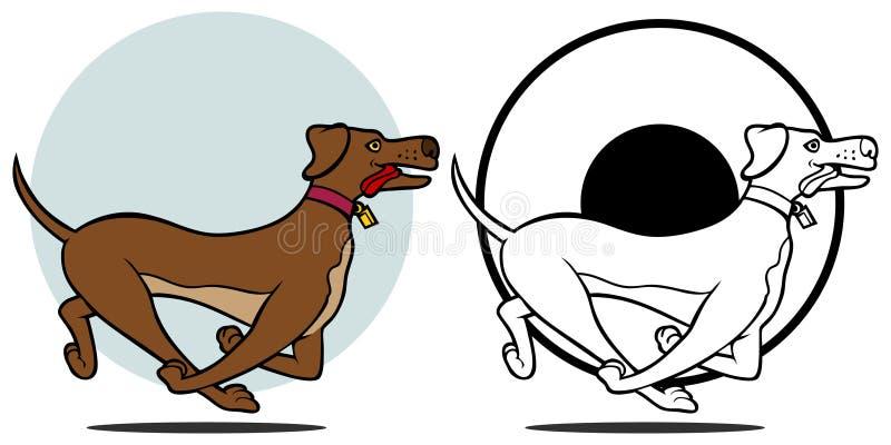 Download Dog Running Set Stock Photo - Image: 13236490