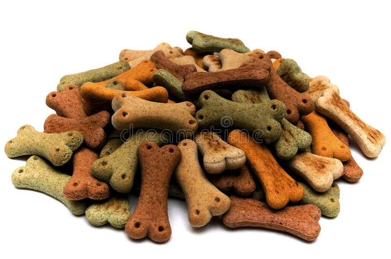 Dog's biscuits royalty free stock images