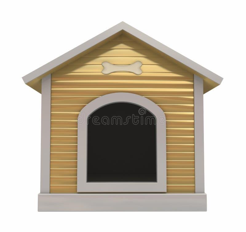 Download Dog`s kennel stock illustration. Illustration of natural - 21797984