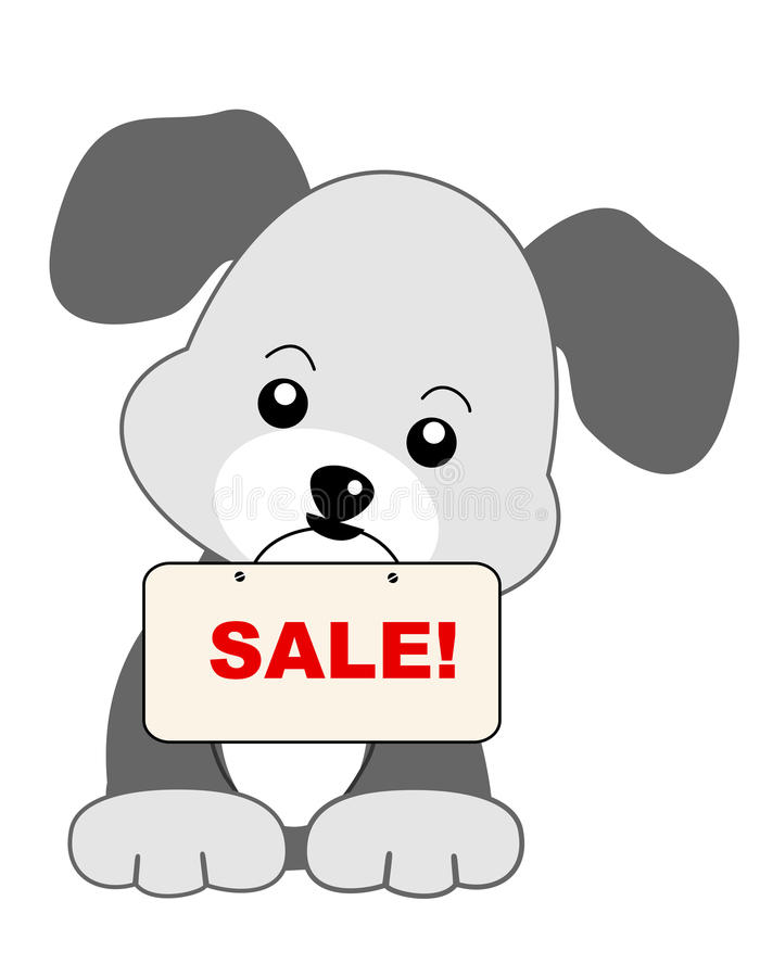 Download Dog sale stock vector. Image of color, funny, dogs, animals - 21618561