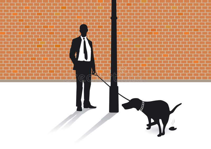 The Dog Shit Royalty Free Stock Image