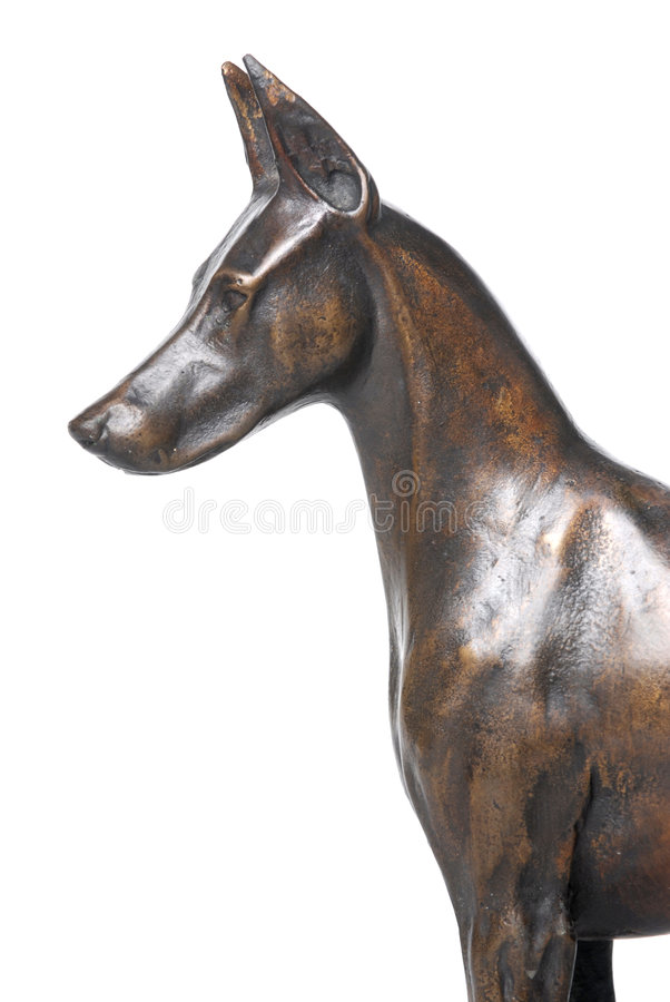 Dog Statue royalty free stock images