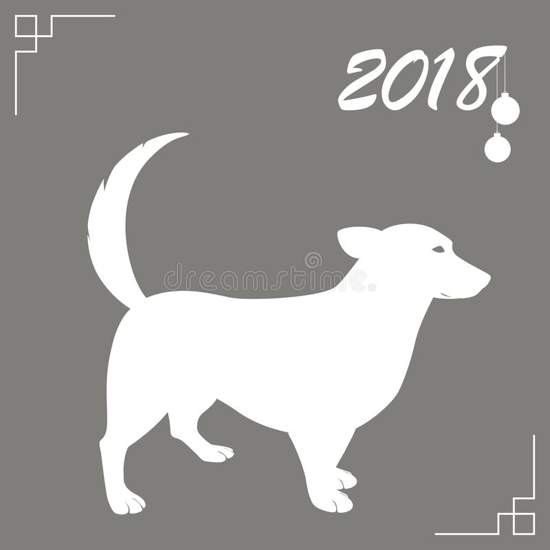 Dog is the symbol of the chinese new year 2018 design for holiday download dog is the symbol of the chinese new year 2018 design for holiday greeting m4hsunfo